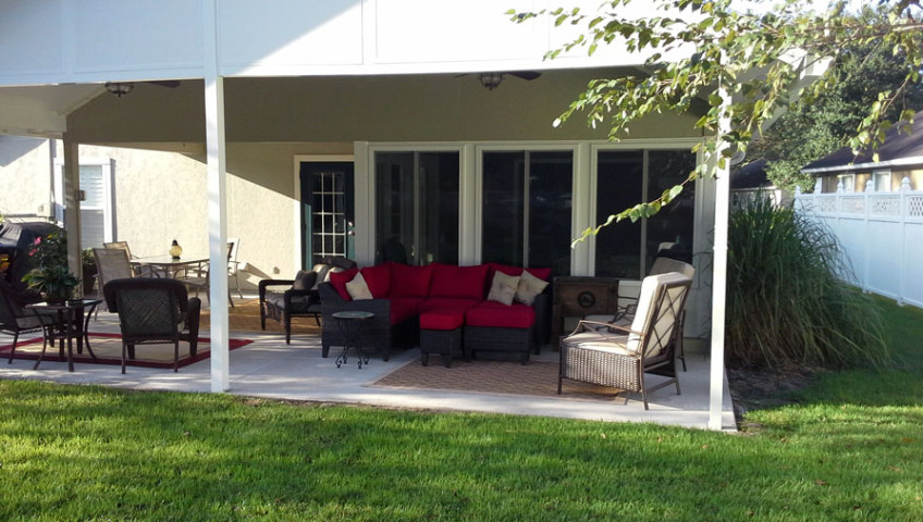 Sunroom and Patio Cover